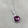 Platinum Plated Swarovski Crystal Elements Pendant