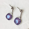 Swarovski Crystal Elements Sterling Silver Drop Earrings
