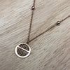 Rose Gold Plated Stainless Steel Pendant
