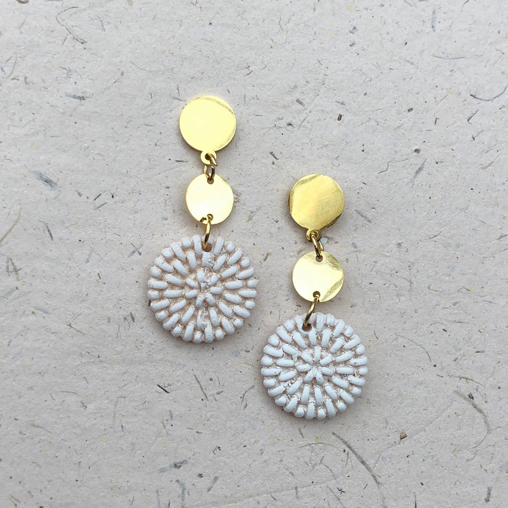 Gold Plated Drop Earrings