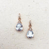 Rose Gold Cubic Zirconia Earrings