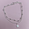 Sterling Silver Star & Ball Bracelet