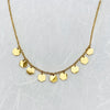 Stainless Steel Gold Plated Necklace