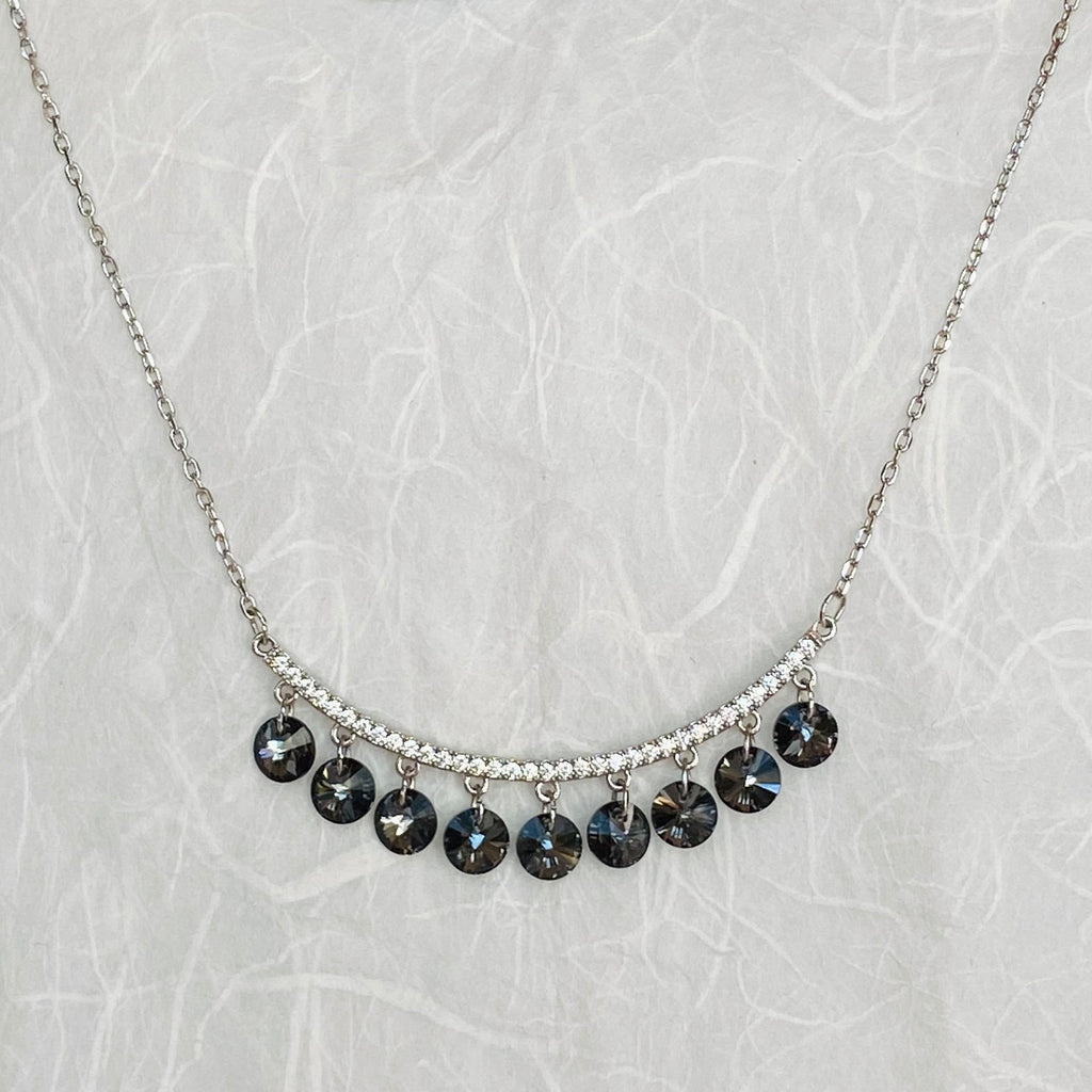 Elegant Necklace featuring Genuine Swarovski Crystals®