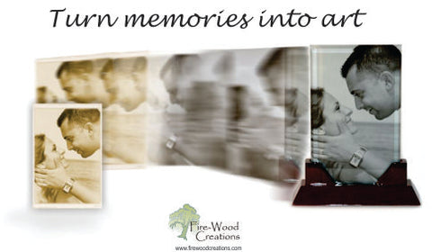 Fire-Wood Creations - Your Personalized Gifts using your personal photo!