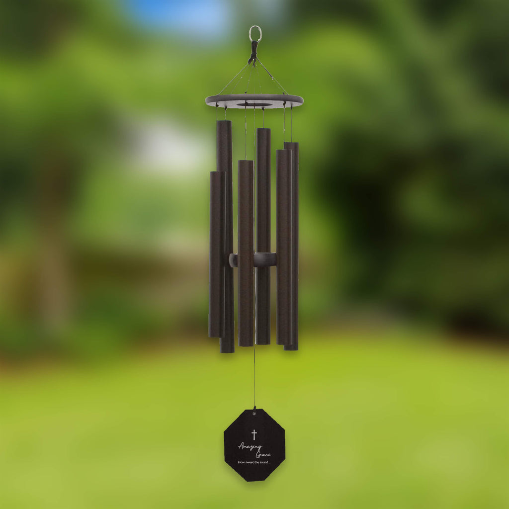Memorial Wind Chime | Amazing Grace | Amish Large Wind Chime