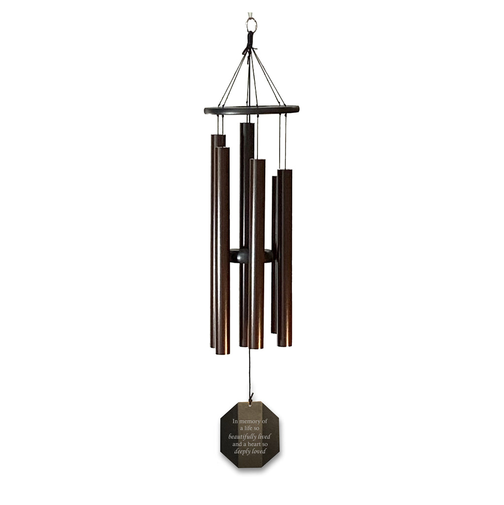 Memorial Wind Chime | A life so beautifully lived | Amish Large Chime
