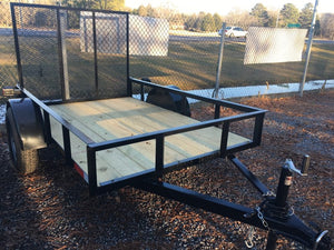 Featherlite Single Axle Utility Trailer