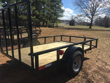 "Load image into Gallery viewer, 6x10 ""Hybrid"" Single Axle Utility Trailer"