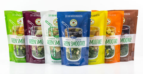 frozen garden green smoothie flavors