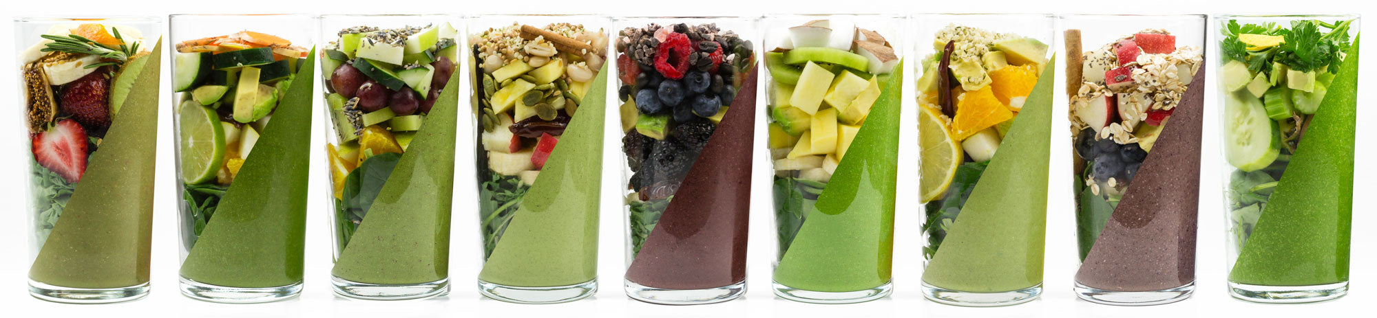 frozen garden green smoothies