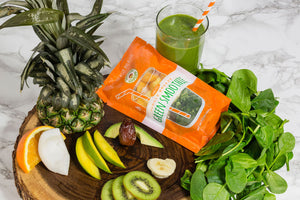 Frozen Garden Jungle Breeze Green Smoothie Ingredients