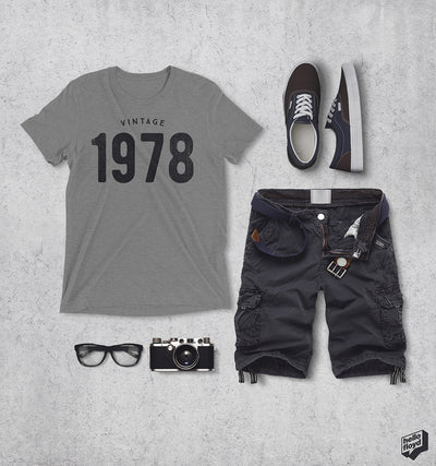 40th Birthday Gift Ideas | Vintage 1978 Shirts
