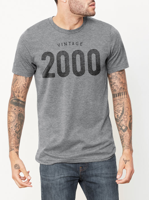 Birthday Shirts Vintage 2000 T Shirt