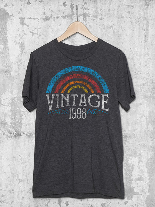 21st Birthday Vintage Rainbow T-Shirt