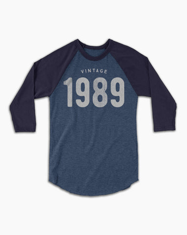 30th Birthday Baseball Tee