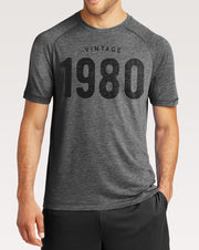Custom Vintage Year Performance T-Shirt