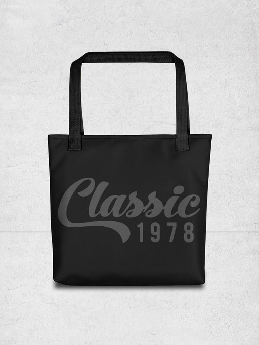 Classic 1978 Tote Bag - Hello Floyd Graphic Tees