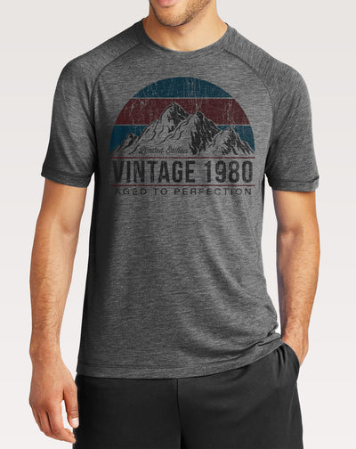 40th Birthday Shirt | Men's Vintage Mountain Tee
