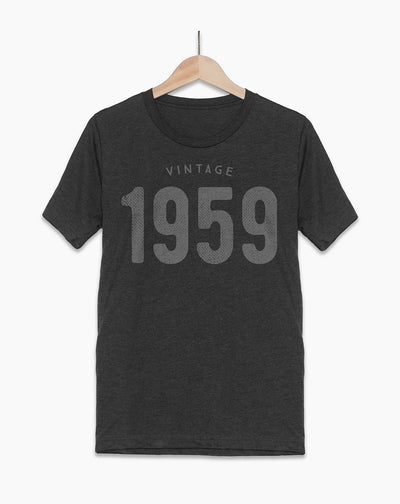60th Birthday  T-Shirt | Vintage - Hello Floyd Birthday Shirts & Gifts