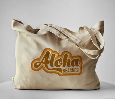 Aloha Beaches! Organic Tote Bag
