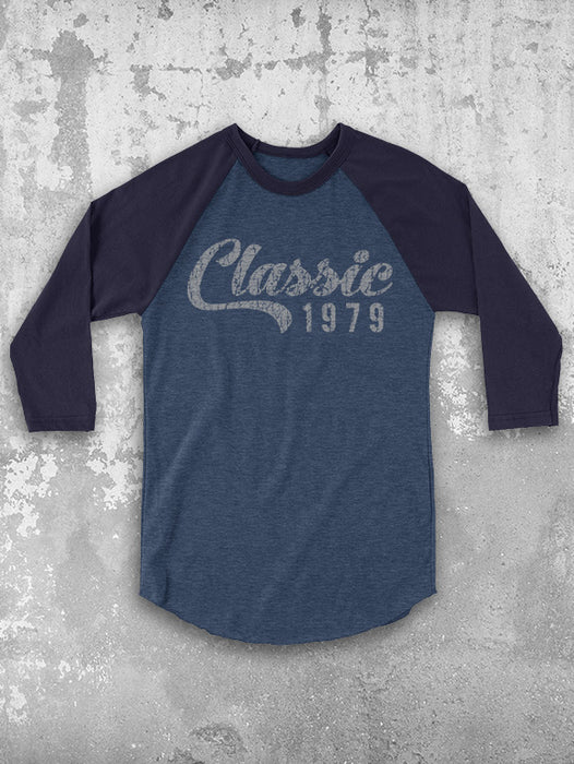 Birthday Shirts Classic 1979 40th Baseball Tee