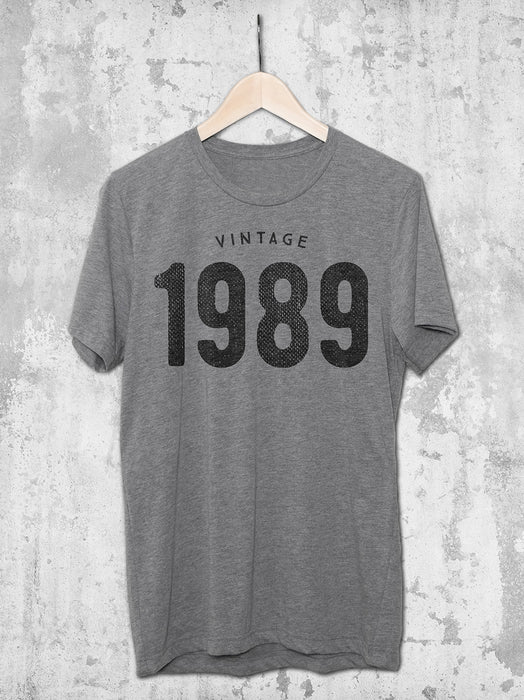 30th Birthday Vintage 1989 Shirt