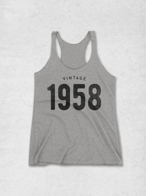Women's Vintage 1958 Tank Top - Hello Floyd Graphic Tees