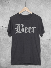 Beer Old English T-Shirt