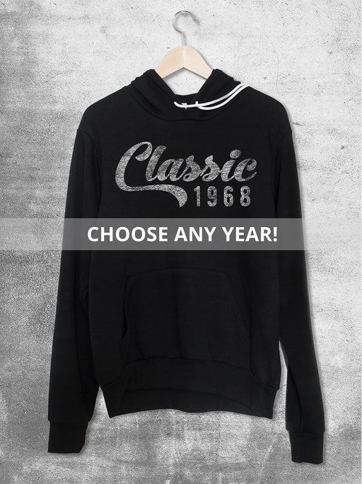 Personalized Year Birthday Hoodie - Classic