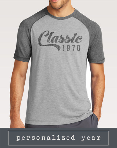 Personalized Men's Classic Birthday Shirt
