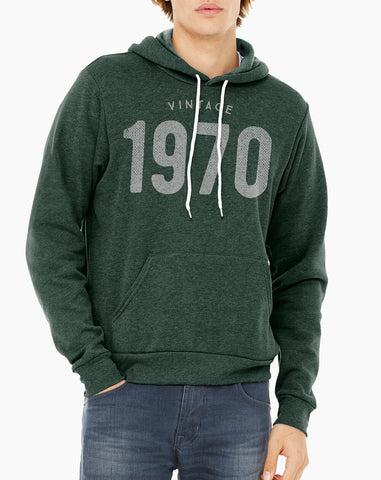 Custom Year Vintage & Classic Birthday Hoodie