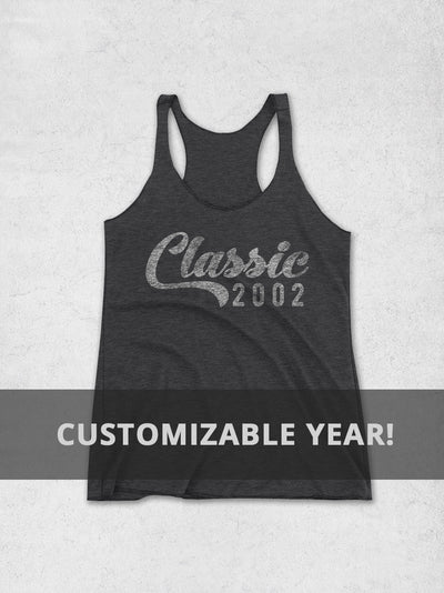 Personalized Year Birthday Women's Tank Top - Classic