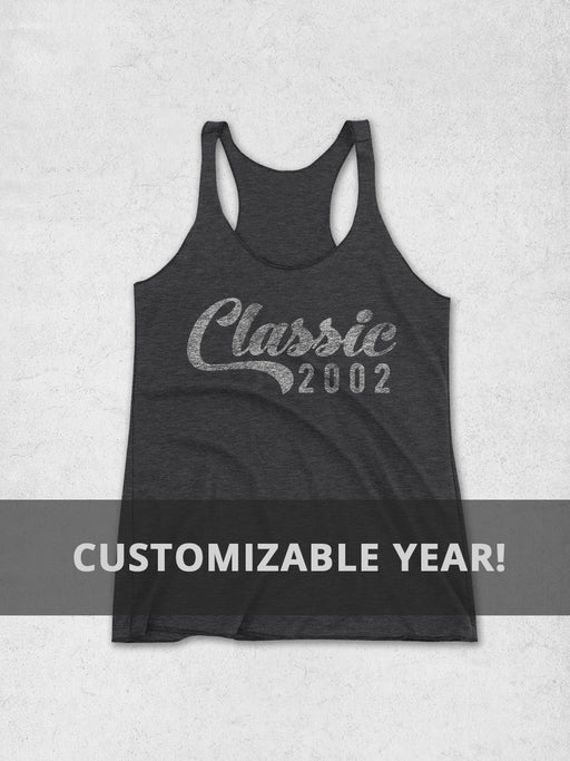 Birthday Shirts-Personalized Year Birthday Women's Tank Top - Classic