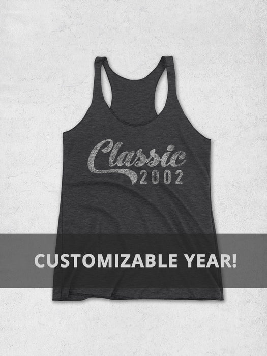 c59f052c613503 Birthday Shirts-Personalized Year Birthday Women s Tank Top - Classic