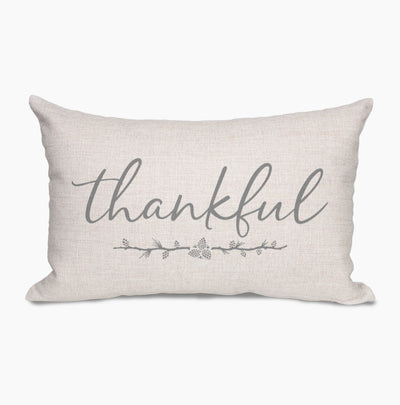 Thankful Farmhouse Pillow