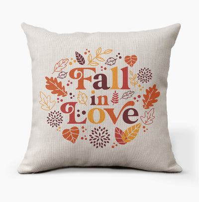 Fall in Love Decorative Pillow