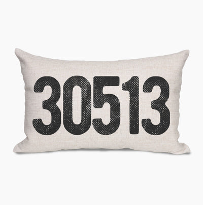 Farmhouse Zip Code Pillows