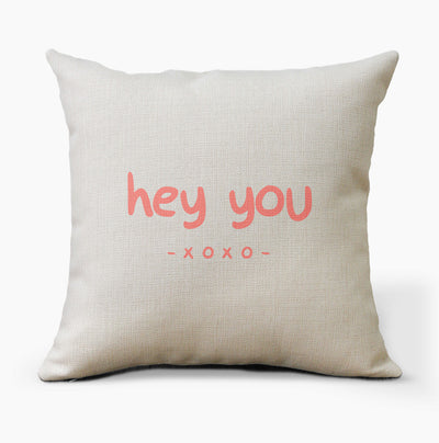 hey you xoxo Pillow