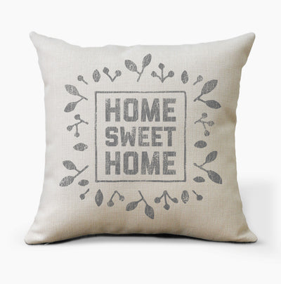 Home Sweet Home Farmhouse Pillow