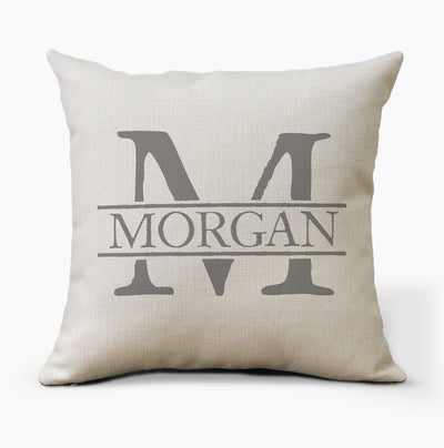 Personalized Pillow | Name Monogram