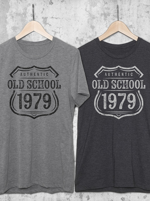 Old School Custom Year Birthday T-Shirt