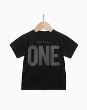 Vintage One Year Old Girl - 1st Birthday Shirt