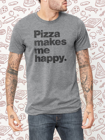 Pizza Makes Me Happy T-Shirt