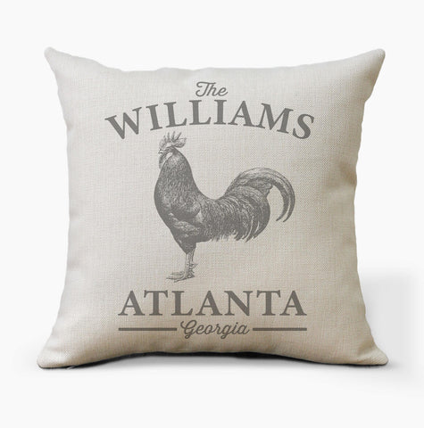 Personalized Farm Animal Pillow