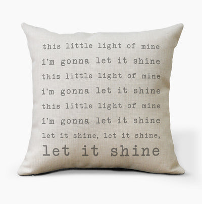 This Little Light Of Mine Pillow