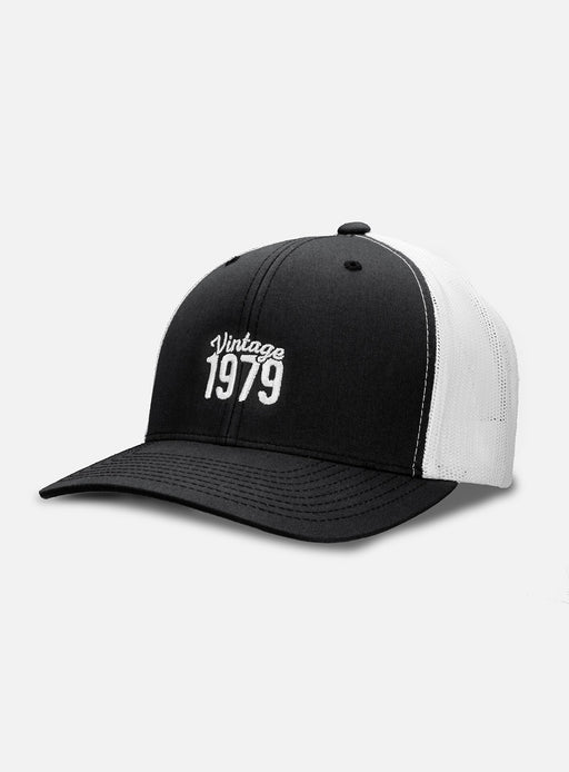 40th Birthday Trucker Hat - Vintage Year
