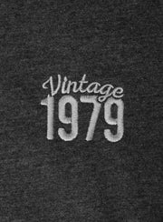 40th Birthday Embroidered Shirt - Vintage Year
