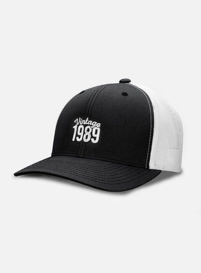 30th Birthday Vintage 1989 Trucker Hat