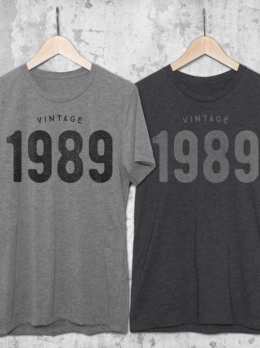 Birthday Shirts Vintage 1989 T Shirt